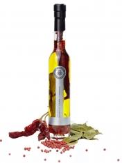 Extra virgen olijfolie met rode peper, laurier en peper van La Chinata