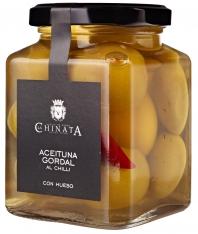 Gordal olijven met chilli van La Chinata