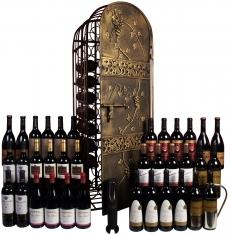 Privé wijnkelder met een perfecte selectie voor kerst