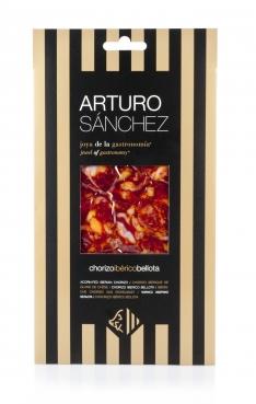 Iberische gran reserva Chorizo van eikel-varkens (Bellota) van Arturo Sánchez handgesneden
