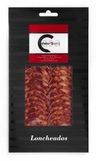Iberische Chorizo van eikel-varkens (Bellota) van Ibéricos Dehesa Casablanca gesneden