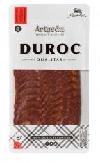Serrano chorizo extra Duroc bereidt volgens familie traditie van Artysán