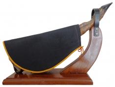 Hamdoek in het zwart van Jamonprivé