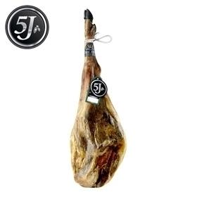 Iberische ham 100% van eikel-varkens (Bellota) van Cinco Jotas 5J