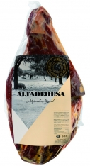 Ontbeende Iberische ham 100% van eikelvarkens (Bellota) van Altadehesa
