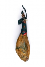 Iberische ham van met graangevoerde varkens met certificaat van Revisan Ibéricos