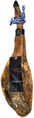 Iberische ham van graan gevoede varkens van de eeuw van Sánchez Bermejo - heel
