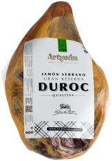 Serrano ham Duroc Gran reserva ontbeend van Artysán