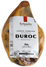 Serrano ham Duroc Reserva ontbeend van Artysán