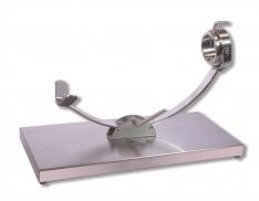 Hamklem met schuifsysteem in RVS met een draaiend kopstuk van Steel Blade