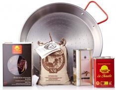 Paella pakket van La Chinata voor 2 personen