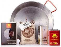Paella pakket van La Chinata voor 4 personen