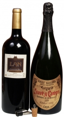 Kerstpakket met een Cava en Rode Premium wijn Magnum (1.5 L)