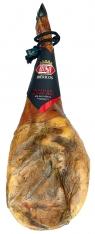 Iberische schouderham van grasgevoerde varkens met certificaat van Revisan Ibéricos