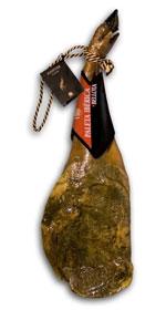 Iberische schouderham van eikel-varkens (Bellota) met certificaat van Revisan Ibéricos