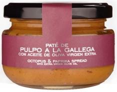 Paté van Galicische inktvis van la Chinata