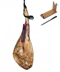 Iberische ham van grasgevoerde varkens van Arturo Sánchez + hamklem + hammes