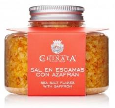 Zout in vlokken met safraan van La Chinata