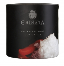 Zeezout vlokken met chilli van La Chinata