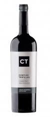 Rode wijn Crianza van Cabernet Sauvignon van CT, 2011 D.O Castilla