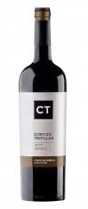 Rode wijn Crianza van Petit Verdot van CT, 2011 D.O Castilla